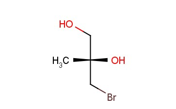 <span class='lighter'>1,2</span>-PROPANEDIOL, 3-<span class='lighter'>BROMO</span>-2-METHYL-, (S)-