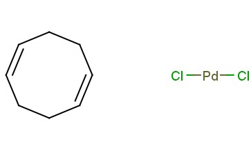 DICHLORO(<span class='lighter'>1,5-CYCLOOCTADIENE</span>)<span class='lighter'>PALLADIUM</span>(<span class='lighter'>II</span>)