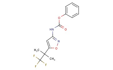 [5-(2,2,2-TRIFLUORO-1,1-DIMETHYL-ETHYL)-ISOXAZOL-3-YL]-CARBAMIC ACID PHENYL ESTER