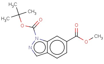 TERT-BUTYL METHYL 1H-INDAZOLE-1,6-DICARBOXYLATE