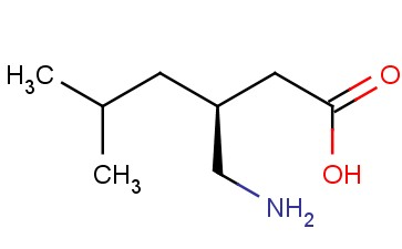 Hexanoic acid, 3-(aminomethyl)-5-methyl-, (3S)-