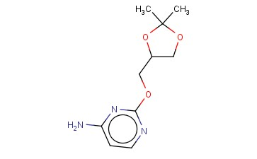 2-[(2,2-DIMETHYL-1,3-DIOXOLAN-4-YL)METHOXY]PYRIMIDIN-4-AMINE