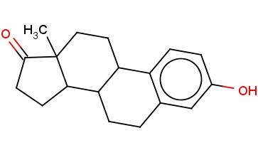 3-HYDROXY-<span class='lighter'>13-METHYL-6,7,8,9,11,12,13</span>,14,15,16-DECAHYDRO-CYCLOPENTA[A]PHENANTHREN-17-ONE
