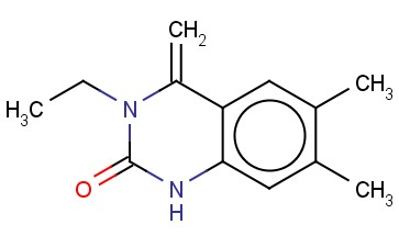 3-ETHYL-6,7-DIMETHYL-4-METHYLENE-3,4-DIHYDROQUINAZOLIN-2(1H)-ONE