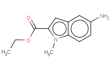 ETHYL 5-AMINO-1-METHYL-1H-INDOLE-2-CARBOXYLATE