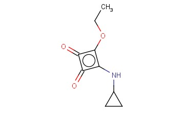 3-(CYCLOPROPYLAMINO)-4-ETHOXYCYCLOBUT-3-ENE-1,2-DIONE