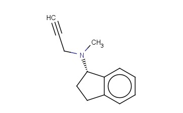 (S)-<span class='lighter'>2,3-DIHYDRO-N-METHYL-N-2-PROPYNYL-1H-INDEN</span>-1-AMINE