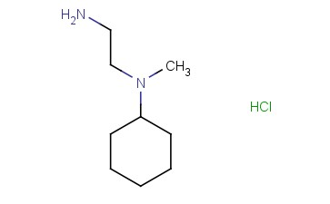 N1-CYCLOHEXYL-N1-METHYL-<span class='lighter'>1,2-ETHANEDIAMINE</span> HYDROCHLORIDE