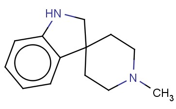 <span class='lighter'>SPIRO</span>[<span class='lighter'>3H-INDOLE-3</span>,4'-PIPERIDINE], 1,2-DIHYDRO-1'-METHYL-
