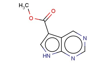 METHYL 7H-PYRROLO[2,3-D]PYRIMIDINE-5-CARBOXYLATE