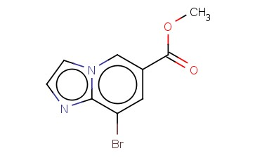 METHYL 8-BROMO-IMIDAZO[1,2-A]PYRIDINE-6-CARBOXYLATE