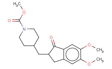 METHYL 4-((5,6-DIMETHOXY-1-OXO-2,3-DIHYDRO-1H-INDEN-2-YL)METHYL)PIPERIDINE-1-CARBOXYLATE