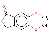 5,6-Dimethoxy-<span class='lighter'>2,3-dihydro-1H-inden-1-one</span>