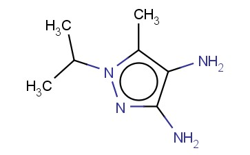 1H-PYRAZOLE-3,4-DIAMINE, 5-METHYL-1-(1-METHYLETHYL)-
