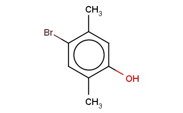 PHENOL, <span class='lighter'>4-BROMO-2,5-DIMETHYL</span>-