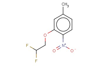 2,2-DIFLUOROETHYL 5-METHYL-2-NITROPHENYL ETHER