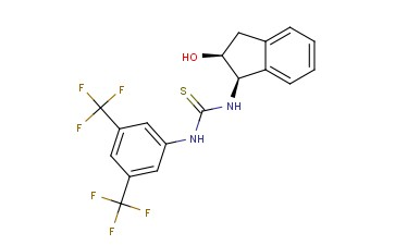 1-(3,5-BIS(TRIFLUOROMETHYL)PHENYL)-3-((1R,2S)-2-HYDROXY-<span class='lighter'>2,3-DIHYDRO-1H-INDEN</span>-1-YL)THIOUREA
