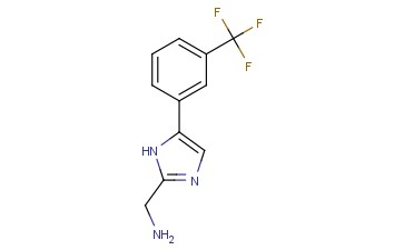 1H-<span class='lighter'>IMIDAZOLE</span>-2-METHANAMINE, 5-[3-(<span class='lighter'>TRIFLUOROMETHYL</span>)PHENYL]-