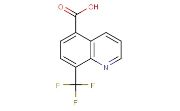 8-(TRIFLUOROMETHYL)<span class='lighter'>QUINOLINE-5-CARBOXYLIC</span> ACID