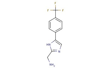 1H-<span class='lighter'>IMIDAZOLE</span>-2-METHANAMINE, 5-[4-(<span class='lighter'>TRIFLUOROMETHYL</span>)PHENYL]-
