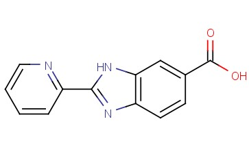 2-(PYRIDIN-2-YL)-1H-BENZO[D]<span class='lighter'>IMIDAZOLE-6-CARBOXYLIC</span> ACID