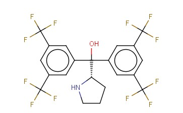 (S)-<span class='lighter'>ALPHA</span>,<span class='lighter'>ALPHA</span>-BIS[3,5-BIS(TRIFLUOROMETHYL)PHENYL]-2-PYRROLIDINEMETHANOL