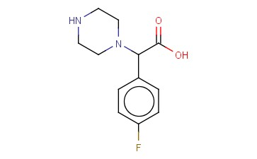 (4-FLUOROPHENYL)(PIPERAZIN-1-YL)ACETIC ACID