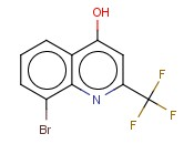 8-<span class='lighter'>Bromo</span>-4-hydroxy-2-(trifluoromethyl)<span class='lighter'>quinoline</span>