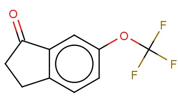 6-(TRIFLUOROMETHOXY)-<span class='lighter'>2,3-DIHYDRO-1H-INDEN-1-ONE</span>