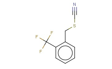 2-(TRIFLUOROMETHYL)BENZYL THIOCYANATE