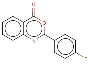 2-(4-Fluorophenyl)-<span class='lighter'>4H-3,1-benzoxazin-4-one</span>