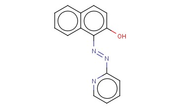 1-(2-PYRIDYLAZO)-<span class='lighter'>2-NAPHTHOL</span>